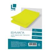 Бумага LITE A4 50л/пач 70 гр неон желтый  (CPL50NE-Ye) (176664)