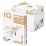Бумага IQ PREMIUM, А4, 250 г/м2, 150 л.169%, для струйной и лазерной печати А+ (110754)