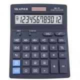 Калькулятор настольный SKAINER SK-114, 14 разрядный., пластик, 140x176x45 мм, черный (10/40) (SK-114